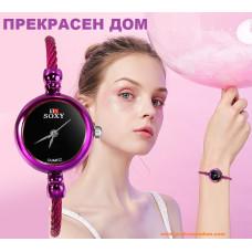 Дамски луксозен часовник SOXY 142